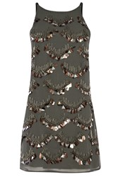 Alice And You Embellished Dress Charcoal