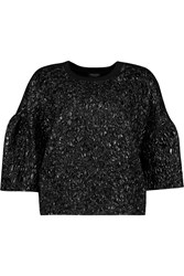 Giambattista Valli Cloque And Cotton Jersey Sweatshirt