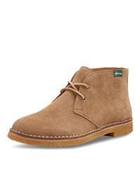 Eastland Hull 1955 Suede Chukka Boots Light Brown