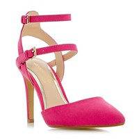 Head Over Heels Cadi Strappy Pointed Court Shoes Pink