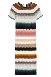 Missoni Multicolored Knit Dress Multicolor