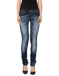 Reign Denim Denim Trousers Women Blue