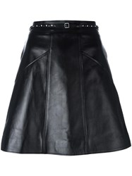 Coach A Line Short Skirt Black