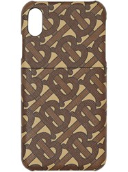 Burberry Monogram Print Iphone X Xs Case 60