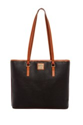 Dooney And Bourke Whitney Leather Tote Black