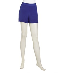 Naven High Waist Charmeuse Shorts Electric Blue