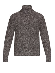 Valentino Flecked Wool And Cashmere Blend Sweater