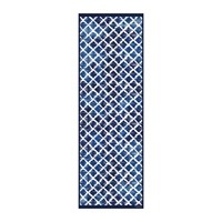 Hibernica Collection Blues Vinyl Floor Mat Hib18225
