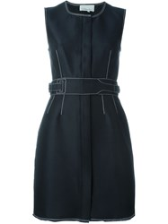 3.1 Phillip Lim Sleeveless Open Back Dress Blue