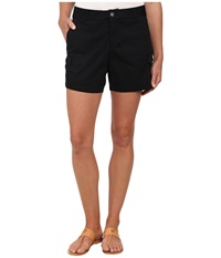 Dockers Trapunto Stitch Cargo Shorts Black Women's Shorts