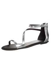 Chocolate Schubar Ember Sandals Silver