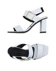 Gianmarco Lorenzi Footwear Sandals Women White