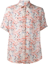Marc Jacobs 'Flamingo' Shirt White