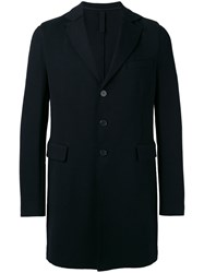 Harris Wharf London Single Breasted Coat Men Cotton 50 Blue