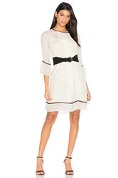 Velvet By Graham And Spencer Caia Pintuck Dress Cream