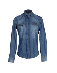 Macchia J Denim Denim Shirts Men Blue