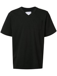 Sacai Patch Pocket T Shirt Men Cotton 3 Black