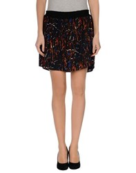 Maison Scotch Skirts Mini Skirts Women Brown
