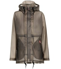 Hunter Original Vinyl Raincoat Grey