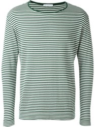 Societe Anonyme Boat Neck Sweater Green