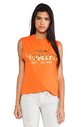 Brian Lichtenberg Homies Muscle Tee Orange
