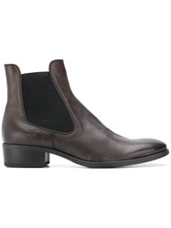 Fiorentini Baker Elasticated Ankle Boots Brown