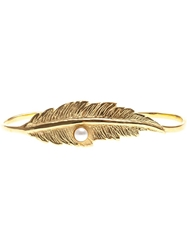 Leivankash Feather Detail Bracelet