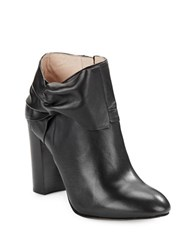 Louise Et Cie Lo Theron Leather Booties Black