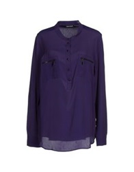 Diana Gallesi Shirts Purple