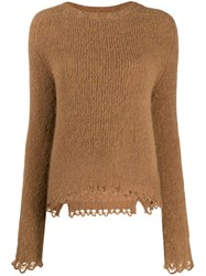 Tela Scalloped Hem Jumper Neutrals