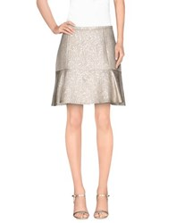 Just In Case Skirts Mini Skirts Women Beige