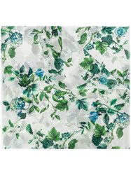 Blumarine Floral Embroidered Scarf 60