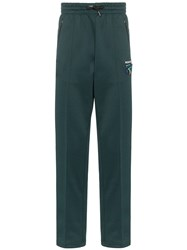 Missoni Side Stripe Track Trousers Green