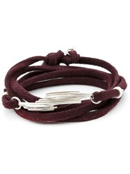 1 100 Serrated Bead Wrap Bracelet Brown