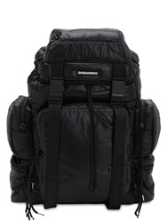Dsquared Techno Trekking Backpack Black