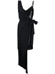 Boutique Moschino Double Layer Dress Black