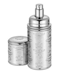Creed Love In White Filled Silver With Silver Trim Leather Atomizer 50 Ml