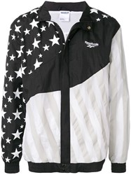Reebok Reflective Panelled Jacket Black