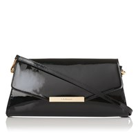 Lk Bennett L.K. Luna Clutch Bag Black