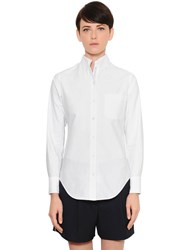 Thom Browne Logoed Oxford Shirt