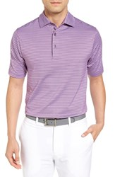 Bobby Jones Men's Haze Stripe Stretch Polo Bora Bora