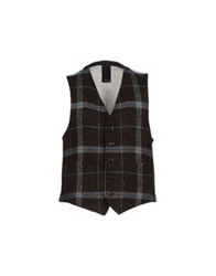People Vests Dark Brown