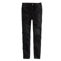 J.Crew Lookout High Rise Jean In Blacksmith Wash