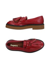 Raparo Loafers Red