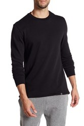 We Are Massiv Long Sleeve Fishtail Pullover Sweater Black