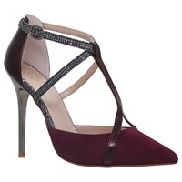 Kg By Kurt Geiger Bethy T Bar Court Shoes Wine