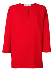 Gianluca Capannolo 'Judy' Tunic Red