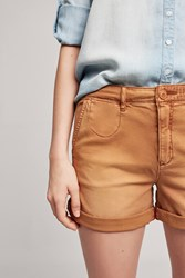 Anthropologie Relaxed Chino Shorts Beige