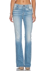 7 For All Mankind High Waisted Vintage Flare Light Sky