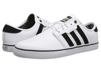 Adidas Skateboarding Seeley Bamboo Print White Core Black Solid Grey Men's Skate Shoes